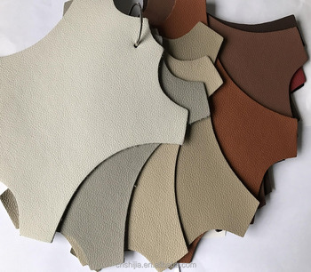 Recycle leather for sofa, pu bonded leather, 60% real leather