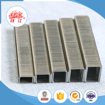 High quality Qianjiang industrial staple wooden a11 staples