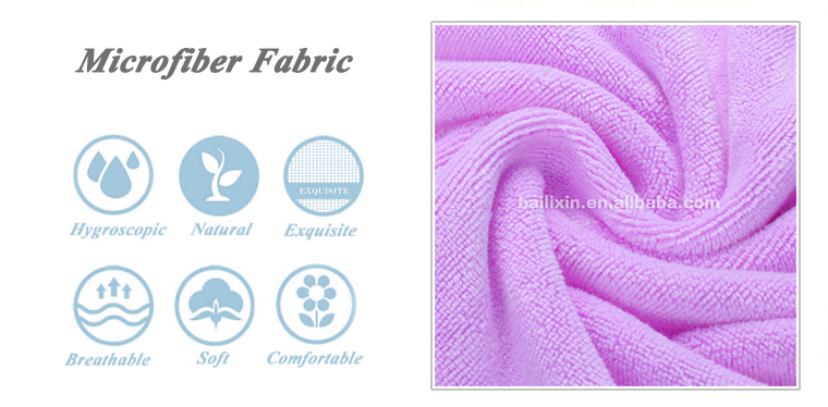 New products canada purple microfiber thick bath towel set for sport
