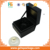 Luxury Design Black Cardboard Packaging Perfume Box Book Shape Solid Inner Tray Cosmetic Box
