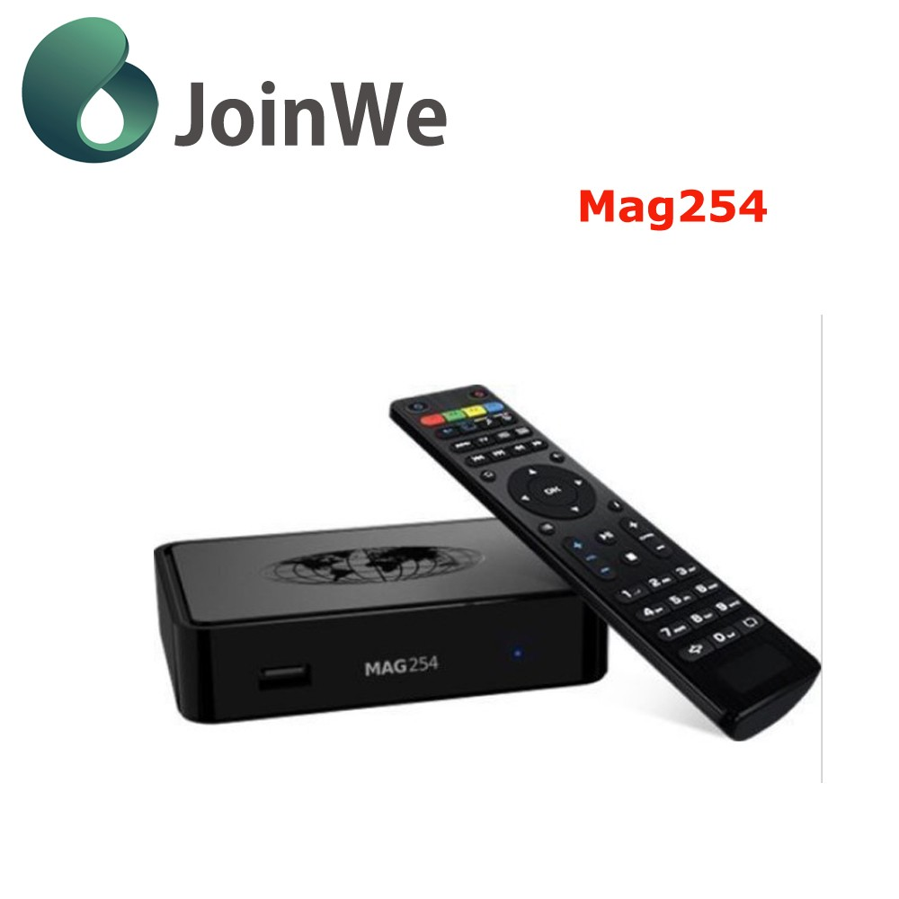 New Iptv Account Mag 254 Iptv Set Top Box new update Mag 254