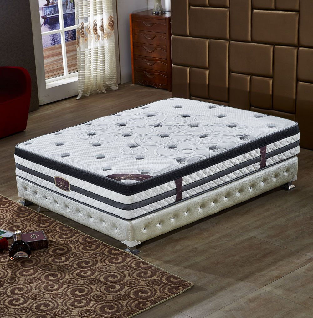 Pocket spring royal home mattress #DW366#