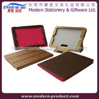 real leather for ipad 4 cover manufacturer