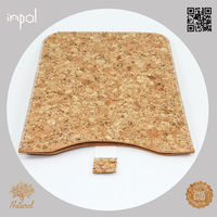 Brand new original soft feeling natural fabric cork leather case for ipad mini by case manufacturing company
