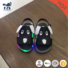 MLS03059 colors glowing high neck led shoes kids leather for party lahore pakistan
