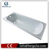 Factory Sale Deep Enamel Steel Freestanding Bathtub With Soaking Function