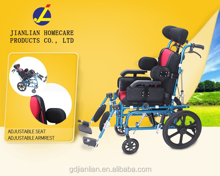 JL9020 a chair for disabled children cerebral palsy wheelchair