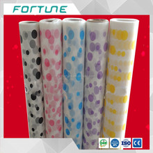 opaque peva film with colorful pattern printed