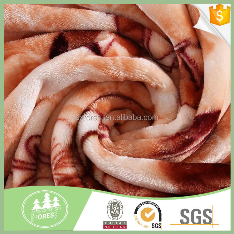 China suppliers Hot sales wholesale 100% polyester Flannel Fleece Fabric