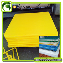3mm thickness colored pp correx hollow sheet