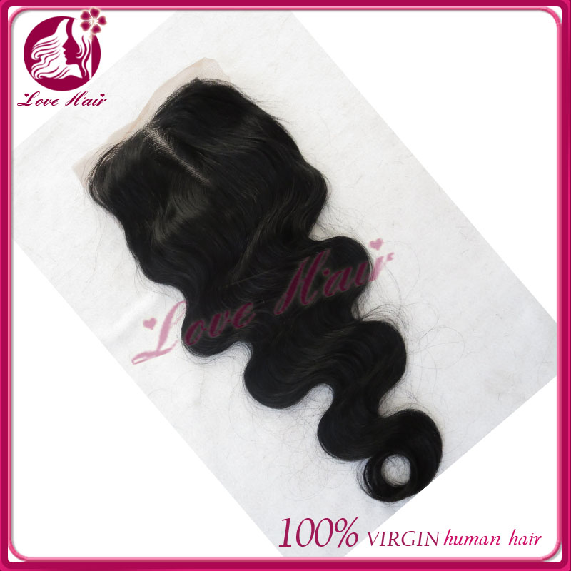 New top AAAAA 100% Brazilian hair full front lace closure piece