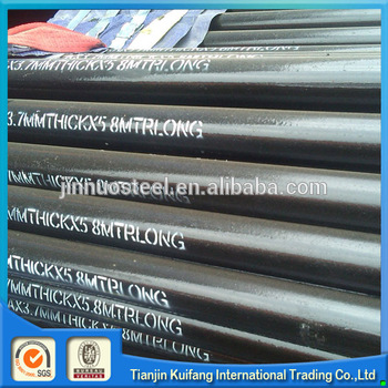 Brand new steel casing pipe sizes as requirement with high quality