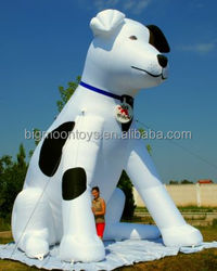 2015 hot advertising giant dog inflatable
