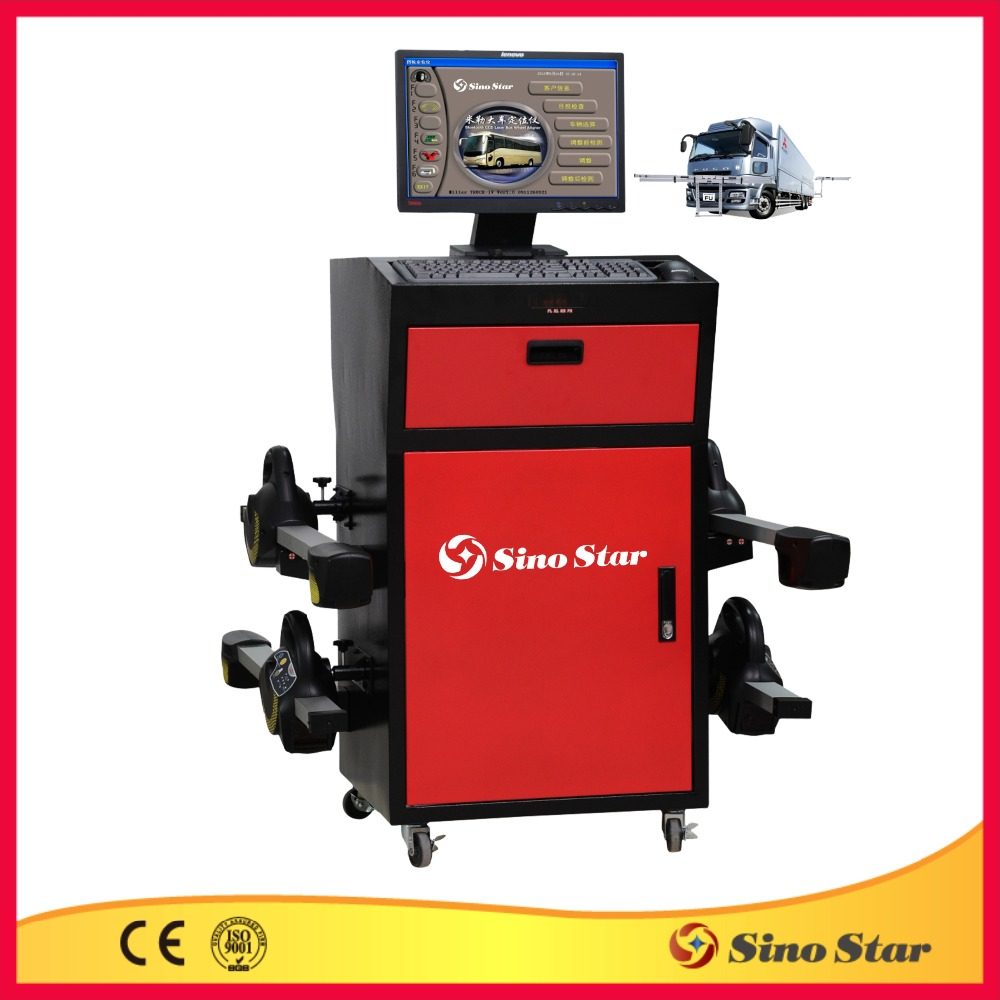 wheel aligner/3d camera space wheel aligner/wheel aligner equipment low price(SS-WA940)