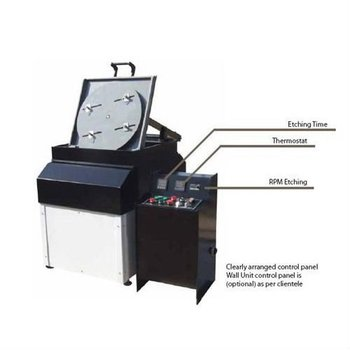 Powderless etching machine