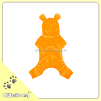 Cute Orange Warmly Dog Winter Jumpsuit/pet jumpsuit