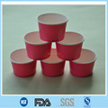 frozen yogurt paper cup with lid