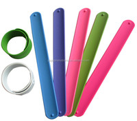 OEM silicone slap bands /promotion gifts /silicone snap breaclet,Glow in Dark Slap Band Wide Slap Bracelet