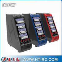 H800AC/DC high power than Hitec X4 AC Plus Four-Channel AC/DC Multi-Charger (6S/6A/50W x 4)