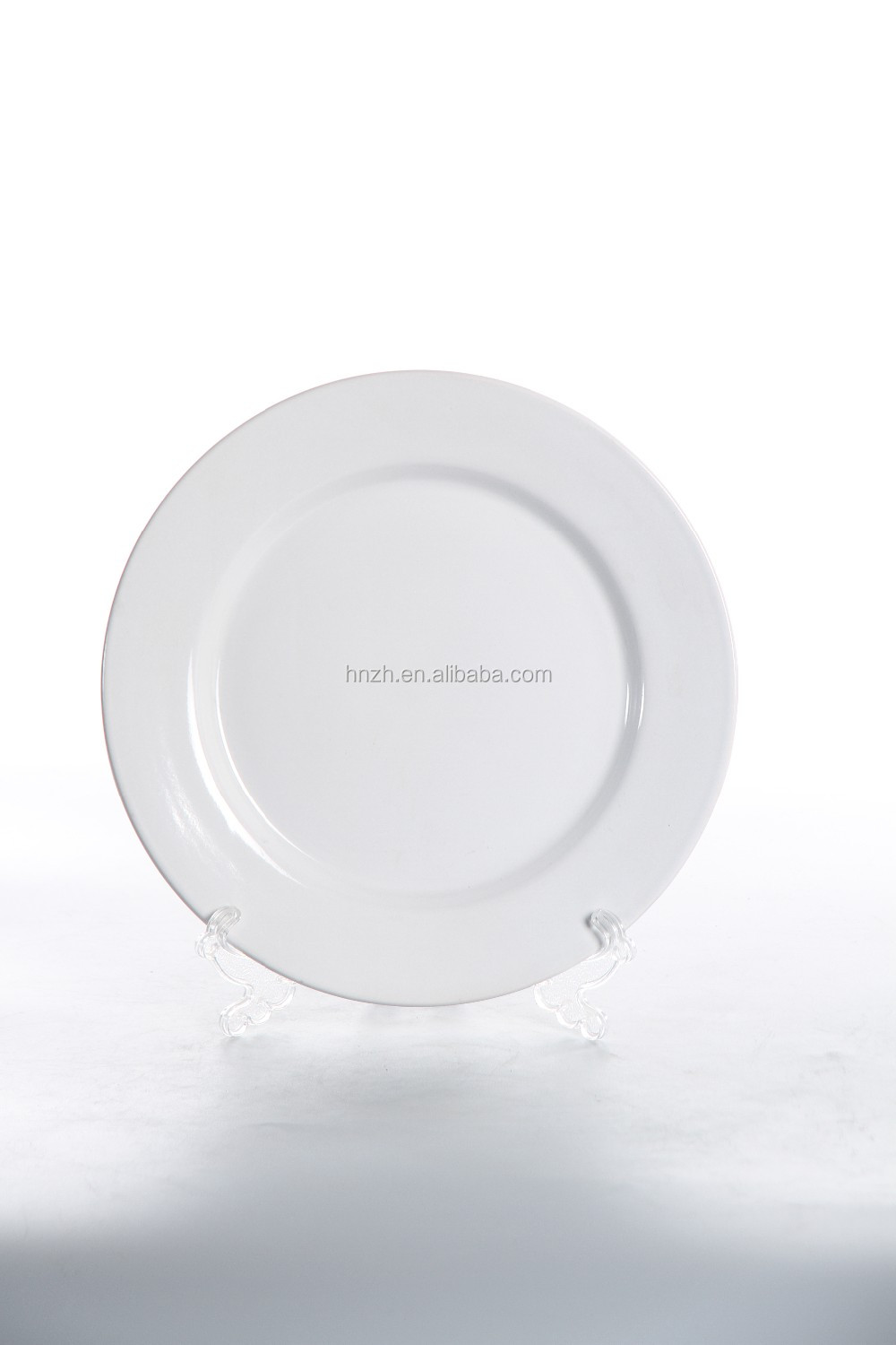 2016 hotsale white porcelain dinner plates for wedding