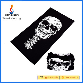 High Quality 100% Polyester Outdoor Custom Multifunctional Tubular Seamless Bandana Headwear
