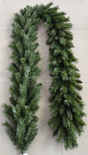 Outdoor pvc hanging christmas Garland