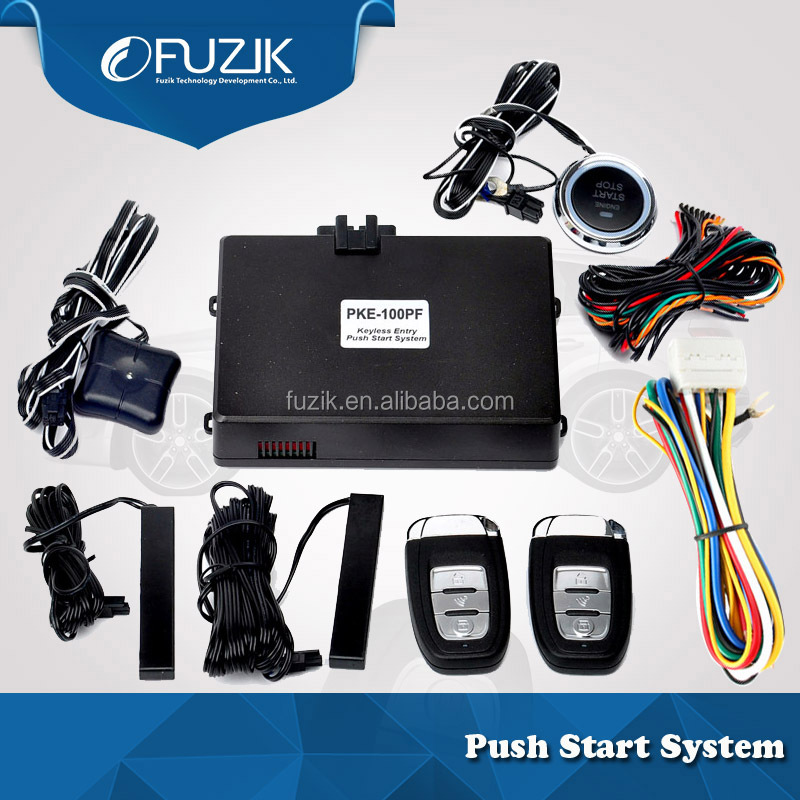 Push Engine Start Stop Button Car Keyless Entry System for Toyota Venza