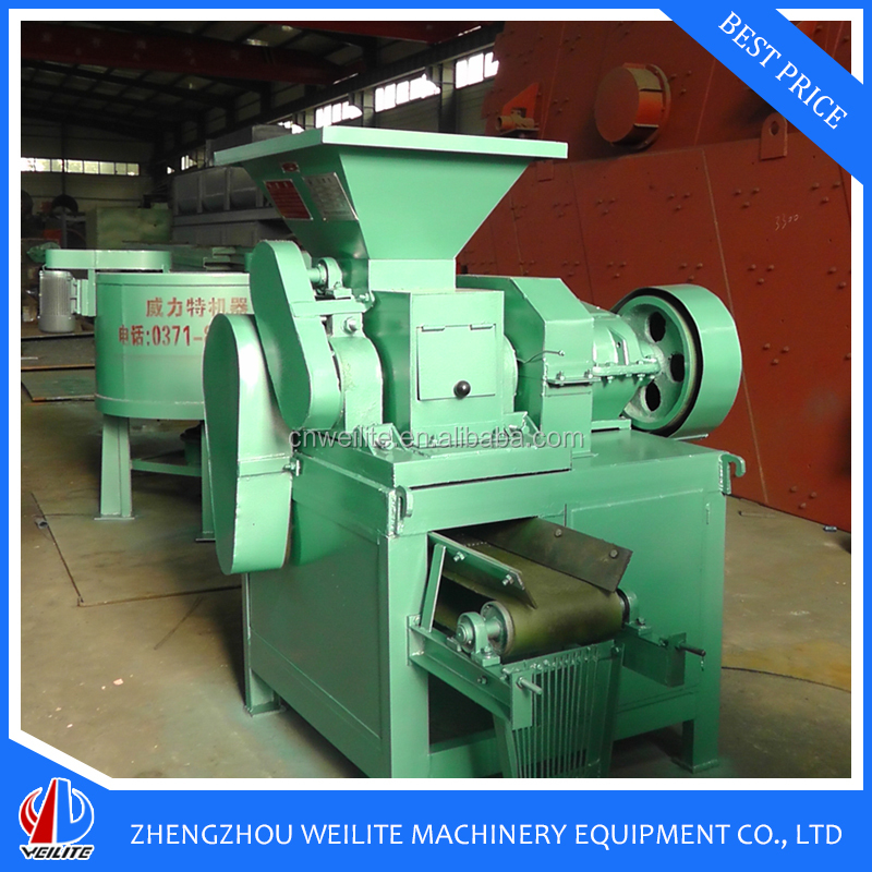Large Capacity Hydraulic Iron Ore Fines Briquette Machine