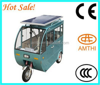 Motorcycle Tricycle Battery Rickshaw For Passenger Solar Rickshaw,Electric Motor Tricycle,Trike With A Roof,Amthi