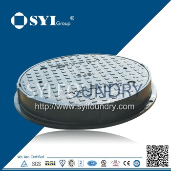 C250 EN124 Ductile Iron Manhole Covers