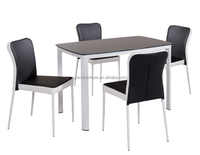 Wholesale Cheap price Glass Dining Table Sets Modern Living Room Sets