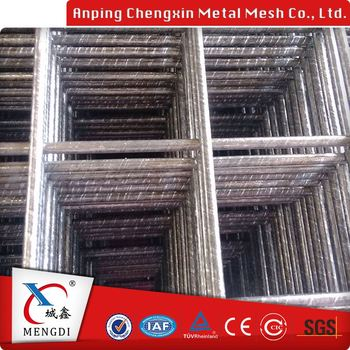 Concrete Welded Mesh Fence Panel