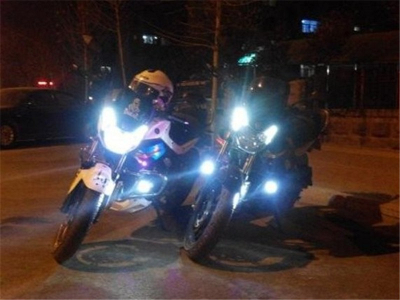Hot sale bajaj ct100 motorcycle led headlight high quality motorcycle bullet led headlight with great price