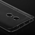 for xiaomi mi new mobile phone, for Redmi Note 4 ultra slim phone case, transparent tpu phone case for redmi note4 cover shell