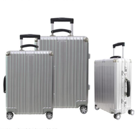 Shiny Hard PC ABS Trolley Case