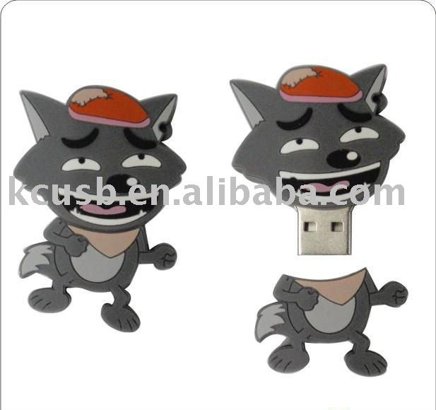 lowest price animal shape usb gifts for zoo promotional activity