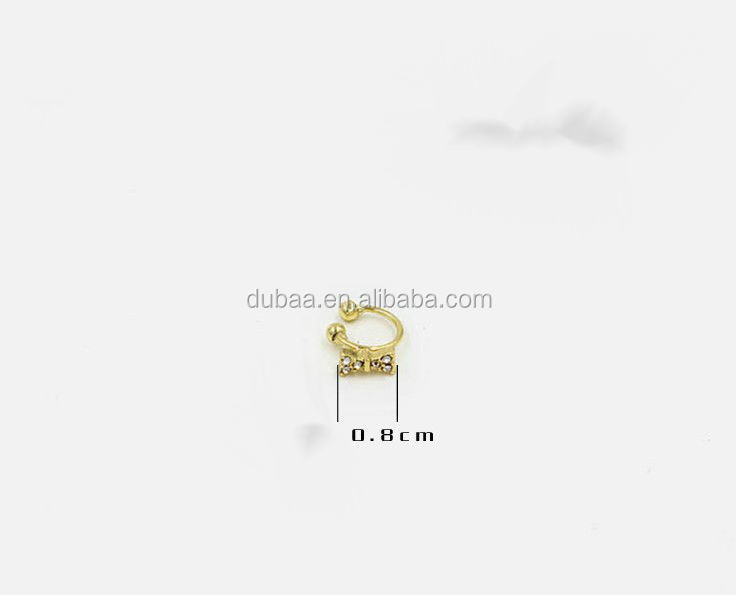 2015 Fashion Earring Ear Cuff,DubaaFashion.com Cuff Earring