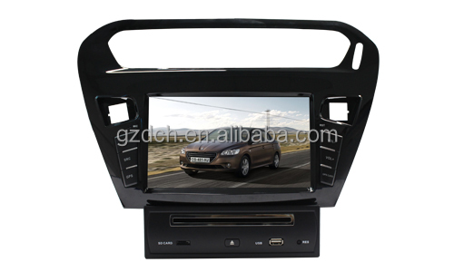car dvd for Citroen Elysee or peugeot 301 2013 year WS-9507