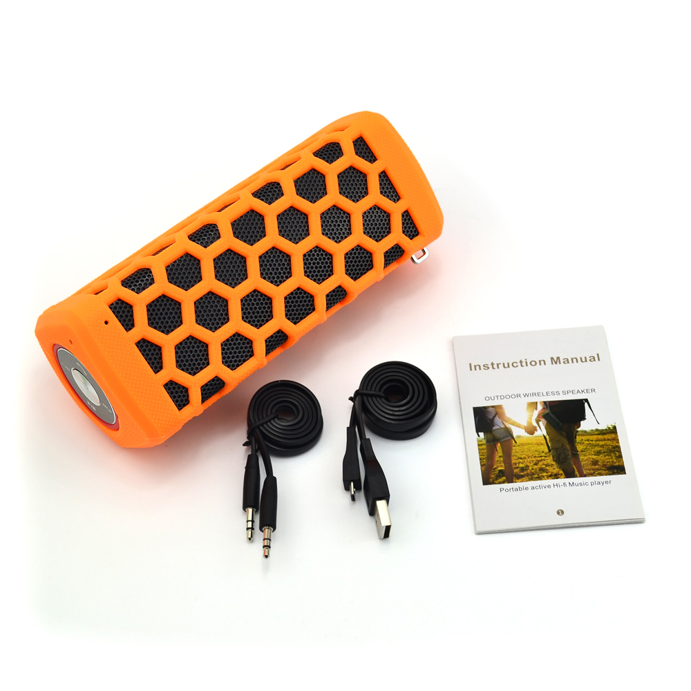9 years Oem Experience 20w Super Bass Portable Waterproof Bluetooth Speaker With 6000mah Powerbank RS777