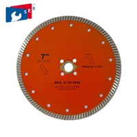 Angle grinder diamond cutting disc