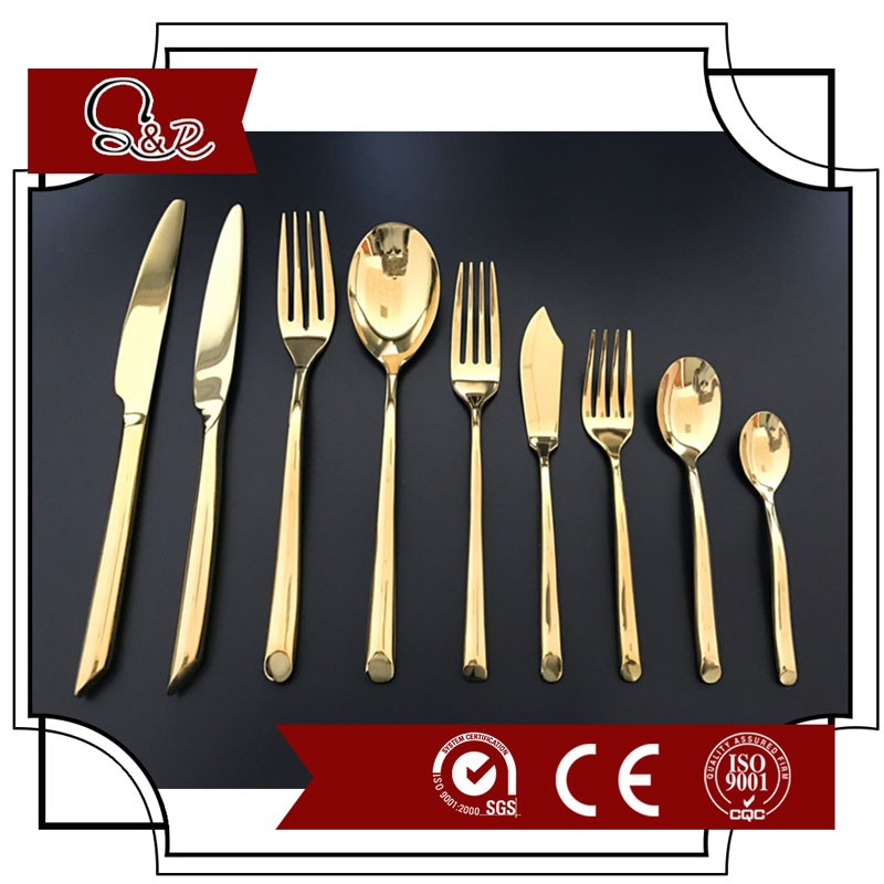 Wholesale Stainless steel flatware/ cutlery/ mexican dinnerware with diamond