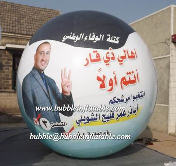 Customised campaign balloon, inflatable balloon for election events
