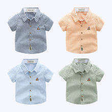 Baby Summer clothes boy Short Sleeve Shirt Comfortable children Shirt