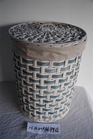 cheap wicker laundry basket