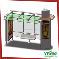 China supplier outdoor advertising kiosk signage