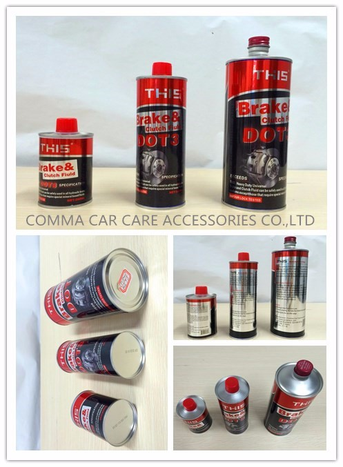wholesale car care products brake oil brake fluid dot3 4