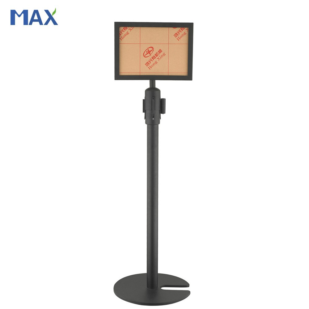 a4 display floor stand sign holder