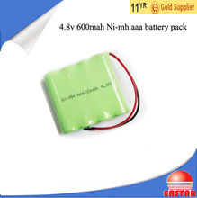 nimh 4.8v 600mah 700mah ni-mh aaa rechargable battery pack for electronical tools