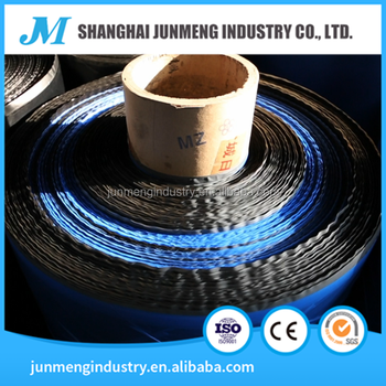 Blue & Black HDPE Strength Film, the surface membrane of Waterproof Asphalt Coiled
