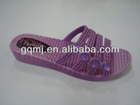 Straw plaited PVC garden slipper mould GQP0153